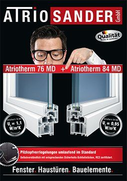 Atriotherm 76-MD 84MD - Kunsstofffenster
